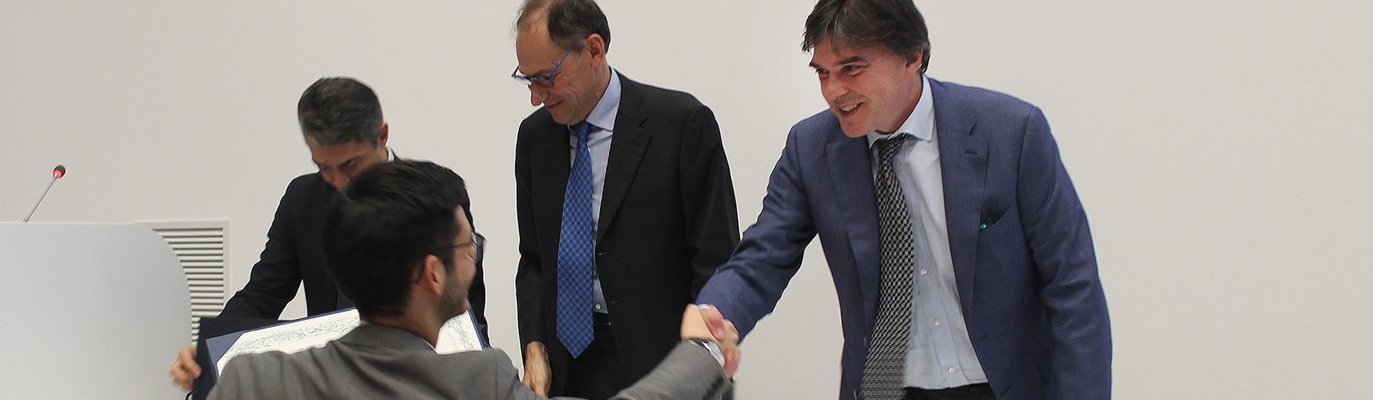 Consegna diplomi Energy Center Torino