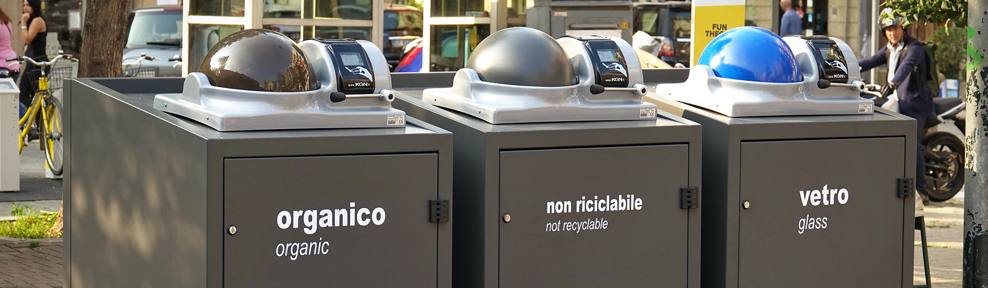 smartcity - rifiuti intelligenti