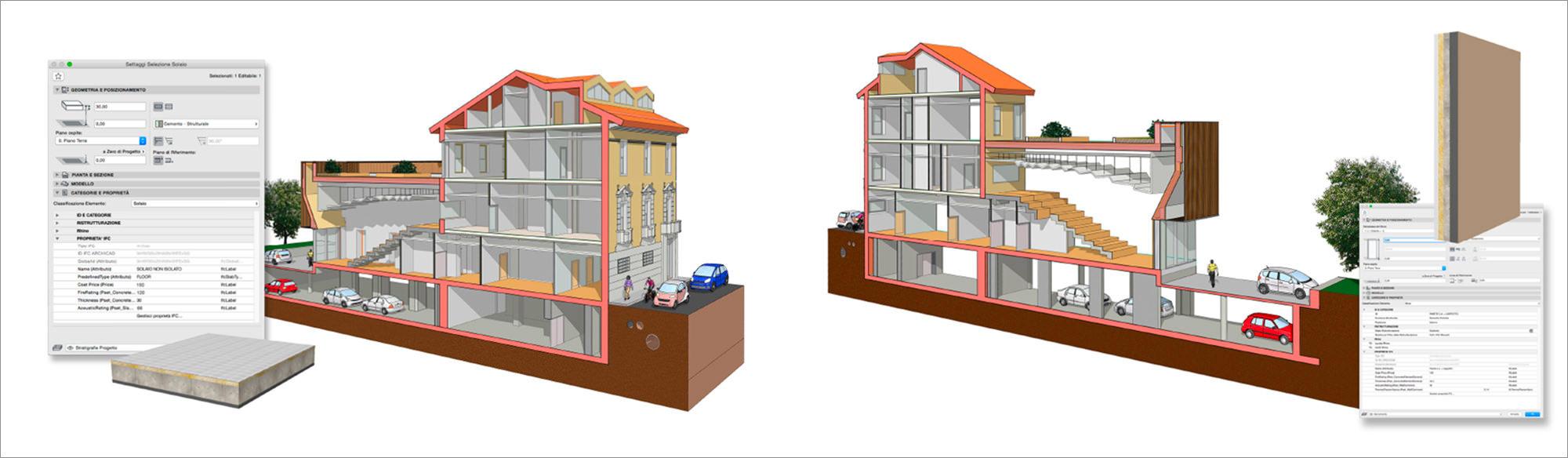 Modellazione BIM di un edificio