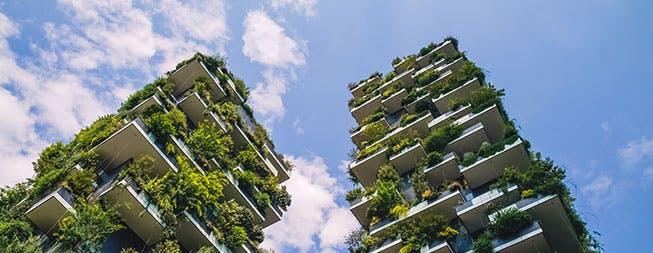 Bosco verticale di Milano città smart