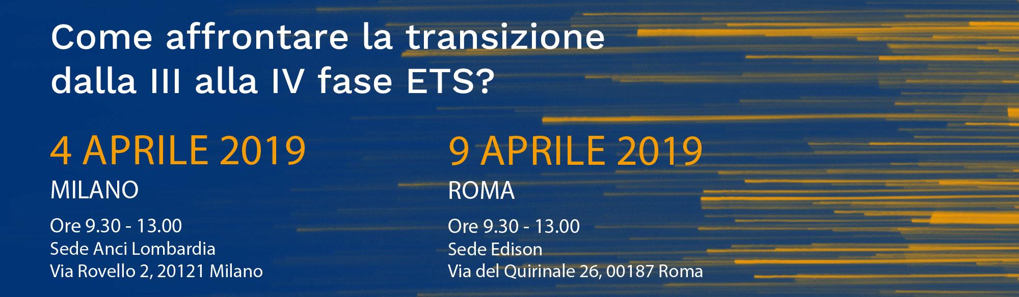 Affrontare la transazione dalla 3 alla 4 fase ETS