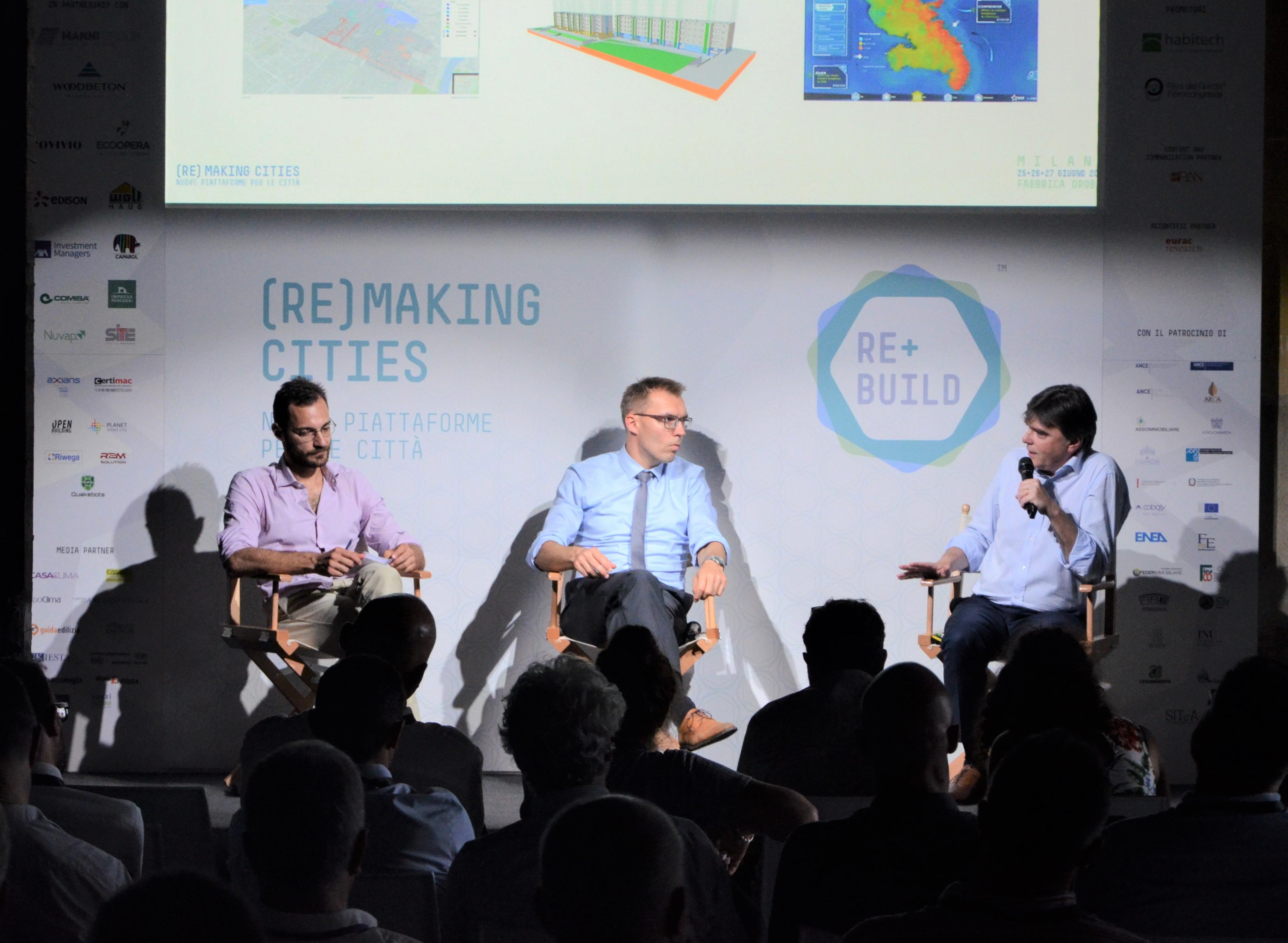 REbuild 2019: Paolo Quaini, Wolfram Sparber e Roberto Nocerino