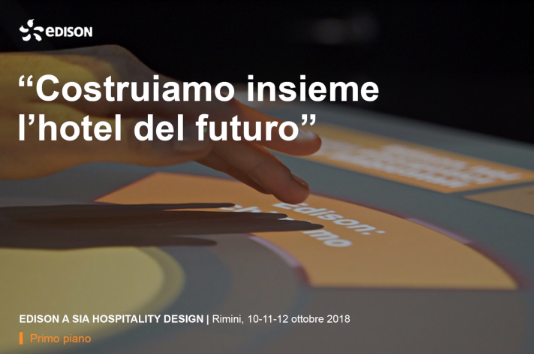 Guarda il video di SIA Hospitality Design 2018