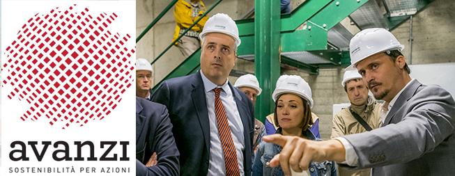 Inaugurazione dell'impianto di teleriscaldamento a biomassa legnosa