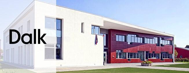Scuola ad efficienza energetica di Rubiano